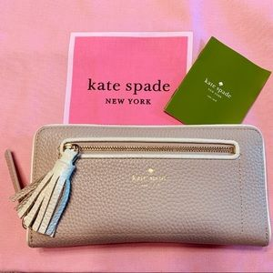 EUC Kate Spade Neda Chester Street Leather Wallet